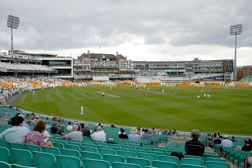 General view of play during Surrey CCC vs Essex CCC, LV Insurance County Championship Division 2 Cricket at the Kia Oval on 12th September 2021
