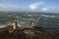 Europe/France/Poitou-Charentes/17/Charente-Maritime/Ile de Ré: L'ocean vu depuis le phare des Baleines