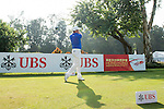 Carlos Pigem of Spain tees off the first hole during the 58th UBS Hong Kong Golf Open as part of the European Tour on 11 December 2016, at the Hong Kong Golf Club, Fanling, Hong Kong, China. Photo by Marcio Rodrigo Machado / Power Sport Images