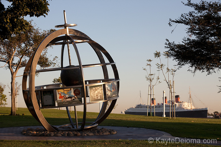 The Navy Memorial at Pierpoint Landing in Long Beach, CA