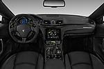Stock photo of straight dashboard view of a 2018 Maserati GranTurismo Sport 2 Door Coupe