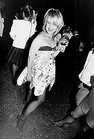 1991 FILE PHOTO - ARCHIVES -<br /> <br /> Designer Kingi Carpenter wears a dress of her own design.<br /> <br /> 1991<br /> <br /> PHOTO :  Erin Comb - Toronto Star Archives - AQP