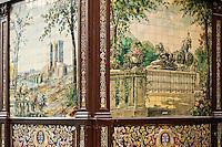 Villa-Rosa exterior facade, Madrid, Spain