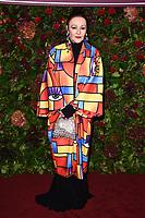Frances Barber<br /> arriving for the Evening Standard Theatre Awards 2019, London.<br /> <br /> ©Ash Knotek  D3539 24/11/2019