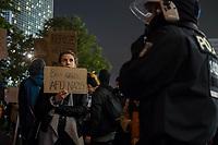 2017/09/24 Politik | Bundestagswahl 2017 | Wahlabend | Protest gegen AfD