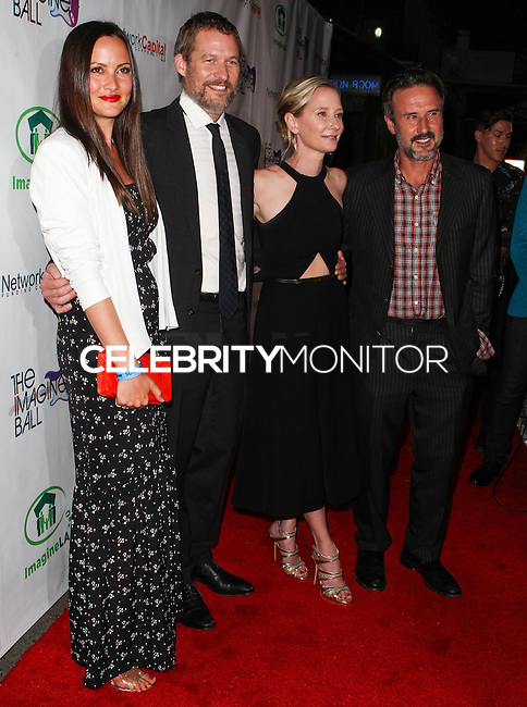 WEST HOLLYWOOD, CA, USA - AUGUST 06: Christina McLarty, James Tupper, Anne Heche, David Arquette at The Imagine Ball Presented By John Terzian & Randall Kaplan Benefiting Imagine LA held at the House of Blues Sunset Strip on August 6, 2014 in West Hollywood, California, United States. (Photo by Celebrity Monitor)