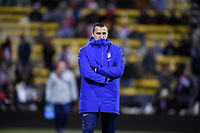 COLUMBUS, OH - NOVEMBER 07: New US Soccer Women's team coach Vlatko Andonovski during a game between Sweden and USWNT at MAPFRE Stadium on November 07, 2019 in Columbus, Ohio.