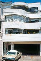 San Francisco: Howard House, Streamlined Moderne, 1939.  Photo '76.