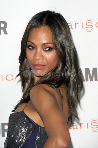 Zoe Saldana at the 2011 Glamour Reel Moments at the Directors Guild of America on October 24, 2011 in Los Angeles, California. © MPI21 / MediaPunch Inc.
