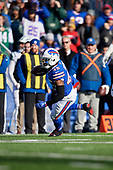 Buffalo Bills Marcus Murphy (45) rushes up field during an NFL football game against the New York Jets, Sunday, December 9, 2018, in Orchard Park, N.Y.  (Mike Janes Photography)