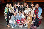 Frontline workers from ICU in UHK enjoying the evening in Killarney on Saturday, kneeling l to r: Sandra Brosnan, Margaret and Amy Griffin, Fiona Coughlan and Darra Riano. Back l to r: Anna Stewart, Siobhan O'Sullivan, Sarah Edwards, Roisin Quill, Cathy Healy O'Leary, Brid Diggin, Monika Justimbaste, Pearl Villanuveva and Catriona Hartnett.