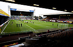 Motherwell v St Johnstone…20.02.21   Fir Park   SPFL<br />The players warm-up prior to kick off at Fir Park<br />Picture by Graeme Hart.<br />Copyright Perthshire Picture Agency<br />Tel: 01738 623350  Mobile: 07990 594431