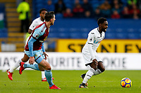 Nathan Dyer of Swansea City during the Premier League match between Burnley and Swansea City at Turf Moor, Burnley, England, UK. Saturday 18 November 2017