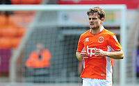 Blackpool's Andy Taylor<br /> <br /> Photographer Kevin Barnes/CameraSport<br /> <br /> Football - The EFL Sky Bet League Two - Blackpool v Exeter City - Saturday 6th August 2016 - Bloomfield Road - Blackpool<br /> <br /> World Copyright © 2016 CameraSport. All rights reserved. 43 Linden Ave. Countesthorpe. Leicester. England. LE8 5PG - Tel: +44 (0) 116 277 4147 - admin@camerasport.com - www.camerasport.com