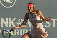 Palo Alto, CA - Monday, July 31, 2017: Maria Sharapova defeated Jennifer Brady in 3 sets at the Bank of the West Classic at Stanford University.