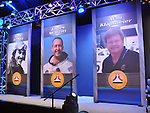 The National Aviation Hall of Fame holds the 52nd annual enshrinement ceremony at the National Museum of the United States Air Force on October 4, 2014. Enshrine during the ceremony were Bert Acosta, Alan & Dale Klapmeier, Jim McDivitt, Emily Howell Warner and Steve Wittman.