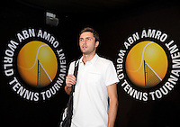 Februari 13, 2015, Netherlands, Rotterdam, Ahoy, ABN AMRO World Tennis Tournament, Gilles Simon (FRA) <br /> Photo: Tennisimages/Henk Koster