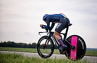 Lawson Craddock (USA/EF Education - Nippo)<br /> <br /> Men Elite Individual Time Trial <br /> from Knokke-Heist to Bruges (43.3 km)<br /> <br /> UCI Road World Championships - Flanders Belgium 2021<br /> <br /> ©kramon