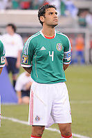 Mexico Rafael Marquez (4)   Mexico defeated Guatemala 2-1 in the quaterfinals for the 2011 CONCACAF Gold Cup , at the New Meadowlands Stadium, Saturday June 18, 2011.