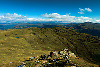 Bealach nan Corp and Lochan Corp from Ben Ledi, Loch Lomond and the Trossachs National Park, Stirlingshire