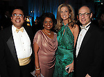 """From left: Samuel and Omana Abraham with Melinda and Sam Stubbs at the Houston Museum of Natural Science's """"Slither to the Sound: A Prehistoric Party"""" Saturday March 02, 2013.(Dave Rossman/ For the Chronicle)"""