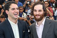 Benny SAFDIE et Josh SAFDIE, photocall pour le film GOOD TIME en competition lors du soixante-dixième (70ème) Festival du Film à Cannes, Palais des Festivals et des Congres, Cannes, Sud de la France, jeudi 25 mai 2017.