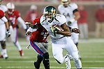 South Florida Bulls wide receiver Andre Davis (7) in action during the game between the South Florida Bulls and the SMU Mustangs at the Gerald J. Ford Stadium in Fort Worth, Texas. USF defeats SMU 14 to 13.
