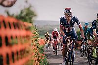 US champion Larry Warbasse (USA/Aqua Blue Sport) up La Redoute<br /> <br /> 104th Liège - Bastogne - Liège 2018 (1.UWT)<br /> 1 Day Race: Liège - Ans (258km)
