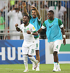 Saudi Arabia vs United Arab Emirates during the 2018 FIFA World Cup Russia Asian Qualifiers Final Qualification Round Group B match at King Abdullah Sports City Stadium on 11 October 2016, in Jeddah, Saudi Arabia. Photo by Stringer / Lagardere Sports