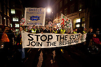 """14.11.2012 - Demonstration in Solidarity with the """"European General Strike"""""""