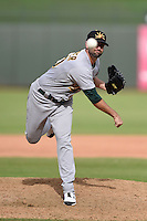 Mesa Solar Sox pitcher Drew Granier (30) during an Arizona Fall League game against the Peoria Javelinas on October 15, 2014 at Surprise Stadium in Surprise, Arizona.  Mesa defeated Peoria 5-2.  (Mike Janes/Four Seam Images)