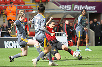 Jessica Sigworth (Manchester United Women) during the English Womens Championship match between Manchester United Women and Leicester City Women at Leigh Sports Village, Leigh, England on 10 March 2019. Photo by James Gill / PRiME Media Images.