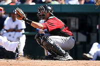 March 5, 2010:  Catcher Jason Castro of the Houston Astros during a Spring Training game at Joker Marchant Stadium in Lakeland, FL.  Photo By Mike Janes/Four Seam Images