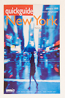 Magazine Cover - QUICKGUIDE  (a weekly visitor's guide to New York City)<br /> <br /> Client - Guest Informant, L.L.C.<br /> <br /> Contact Jeff Spielman thru this website to license this image.......