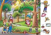 Alfredo, CUTE ANIMALS, puzzle, paintings(BRTO27795,#AC#) illustrations, pinturas, rompe cabeza