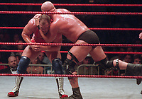 Stone Cold Steve Austin Kurt Angle 1998                                                     Photo By John Barrett/PHOTOlink