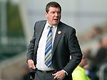 St Mirren v St Johnstone...19.10.13      SPFL<br /> Saints boss Tommy Wright<br /> Picture by Graeme Hart.<br /> Copyright Perthshire Picture Agency<br /> Tel: 01738 623350  Mobile: 07990 594431