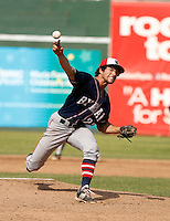 NY State Section 1 Class A HS Championship:  Byram Hills Bobcats vs Rye Garnets HS baseball at Provident Bank Park, Pomona, NY on Saturday, May 30, 2015.  Byram Hills defeated Rye by the score of 4 - 3.