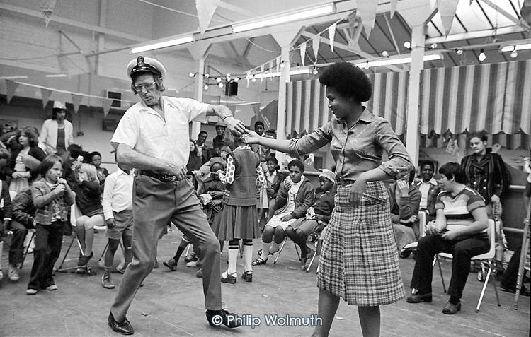 1978: Paddington-by-the-Sea community festival at the Factory, now the Yaa Asantewaa Centre.