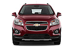 Straight front view of a 2013 Chevrolet TRAX LT+ 5 Door Suv 2WD
