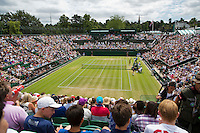 England, London, Juli 06, 2015, Tennis, Wimbledon, Overall view of nr. 2 court.<br /> Photo: Tennisimages/Henk Koster