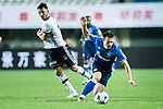 FC Schalke Midfielder Yevhen Konoplyanka (R) fights for the ball with Besiktas Istambul Midfielder Tolgay Arslan (L) during the Friendly Football Matches Summer 2017 between FC Schalke 04 Vs Besiktas Istanbul at Zhuhai Sport Center Stadium on July 19, 2017 in Zhuhai, China. Photo by Marcio Rodrigo Machado / Power Sport Images