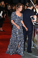 """Alicia Vikander<br /> at the premiere of """"The Light Between Oceans"""" at the Curzon Mayfair, London.<br /> <br /> <br /> ©Ash Knotek  D3184  19/10/2016"""