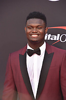 LOS ANGELES, USA. July 10, 2019: Zion Williamson at the 2019 ESPY Awards at the Microsoft Theatre LA Live.<br /> Picture: Paul Smith/Featureflash
