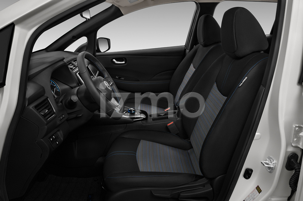 Front seat view of 2020 Nissan Leaf SV 5 Door Hatchback Front Seat  car photos