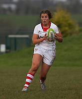 Sunday 3rd December 2017; Ulster Women vs Leinster Women<br /> <br /> Lauren Magennis during the Women's Inter-Pro between Ulster and Leinster at Dromore RFC, Barbon Hill, Dromore, County Down, Northern Ireland. Photo by John Dickson / DICKSONDIGITAL