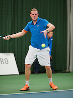 Januari 24, 2015, Rotterdam, ABNAMRO, Supermatch, Ricardo van Zutphen<br /> Photo: Tennisimages/Henk Koster