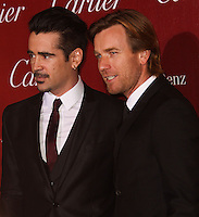 PALM SPRINGS, CA - JANUARY 04: Colin Farrell, Ewan McGregor arriving at the 25th Annual Palm Springs International Film Festival Awards Gala held at Palm Springs Convention Center on January 4, 2014 in Palm Springs, California. (Photo by Xavier Collin/Celebrity Monitor)