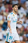 Marco Asensio Willemsen of Real Madrid reacts during their La Liga 2017-18 match between Real Madrid and Valencia CF at the Estadio Santiago Bernabeu on 27 August 2017 in Madrid, Spain. Photo by Diego Gonzalez / Power Sport Images