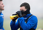 St Johnstone Training…….07.02.20<br />Drey Wright pictured during a foggy training session at McDiarmid Park this morning ahead of tomorrows Scottish Cup game at Ayr.<br />Picture by Graeme Hart.<br />Copyright Perthshire Picture Agency<br />Tel: 01738 623350  Mobile: 07990 594431